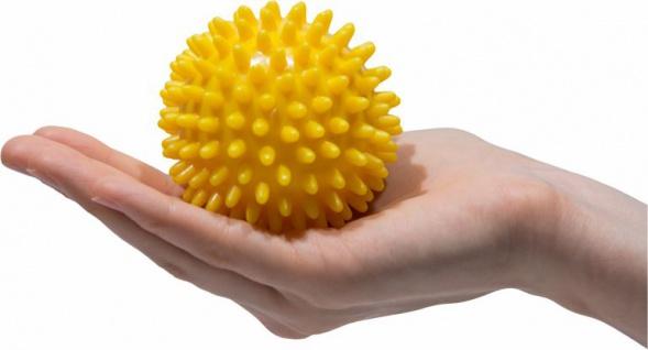 Igelball Noppenball Massage Ball GELB ø 8 cm Sani-Alt