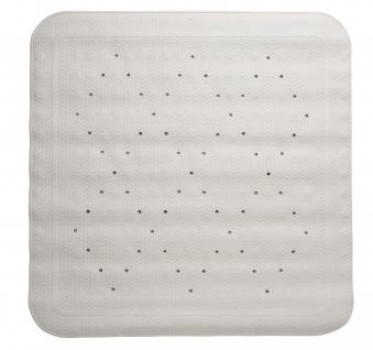 Duscheinlage Gummi, 55 x 55 cm, weiß Sani- Alt