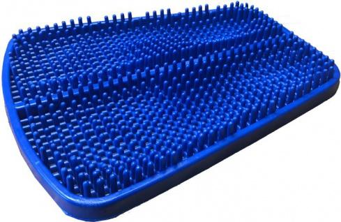 Fußreflexzonen Matte blau Massage Matte Fußmassage Sani-Alt