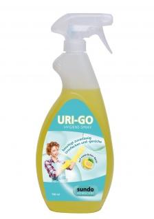 """Hygiene -Spray URI-GO"""" Urinentferner mit Zitronenduft 750ml"""" Sani-Alt"""