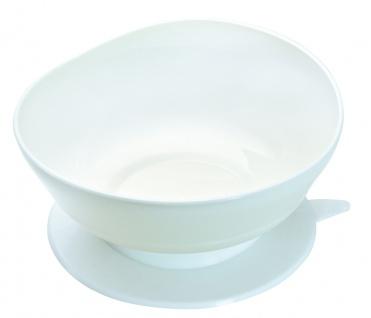 Suppenschale mit Randerhöhung weiß Schuppenteller Geschirr Sani-Alt