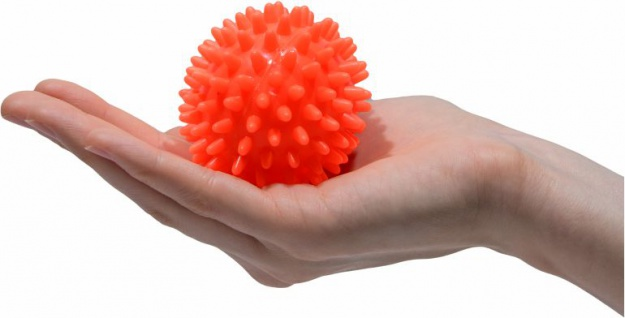 Igelball Noppenball Massage Ball ORANGE ø 6 cm Sani-Alt