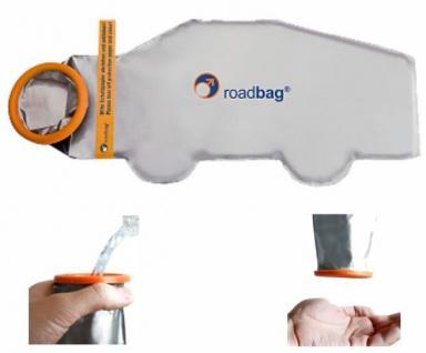 Roadbag® Taschen-WC Einwegurinal Campingtoilette für Männer, 1 St. Roadbag®