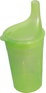 Trinkbecher, Tee, langes Mundstück, grün Sani- Alt