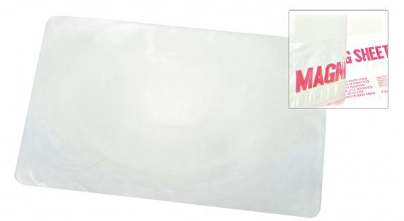 Blattvergrößerer Blattlupe Leselupe Lesehilfe GROß ca. 21 x 28cm Sani-Alt