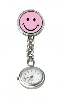 Schwestern-Uhr SMILEY rosa Sani-Alt