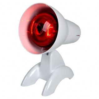 Infrarotlichtlampe 100 W Wärmetherapie Behandlung von Erkältung Sani-Alt - Vorschau