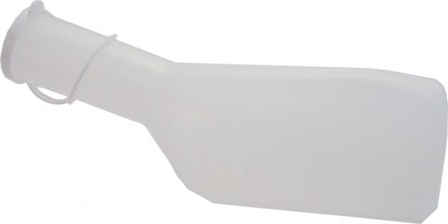 Urinflasche Urinal PE milchig für Männer Sani-Alt