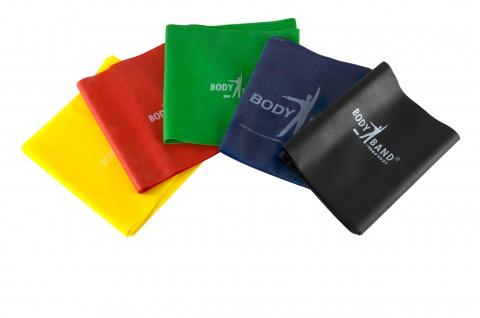 Body-Band 2, 5 m BLAU extra stark ohne Tasche Gymnastikbank Fitnessband Sani-Alt