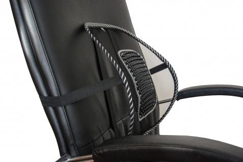 Mobile Rückenstütze Rückenkissen Lordosenstütze mit Massageeffekt Sani-Alt