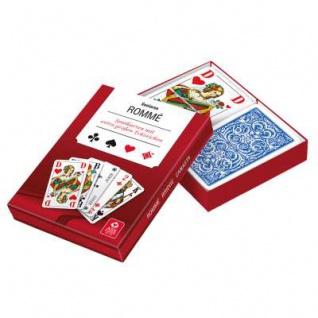 Spielkarten ROMME, extra große Zeichen Kartenspiel Bridge Canasta Sani-Alt