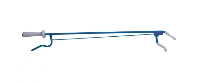 Greifzange Metall, ca. 80cm blau Sani-Alt