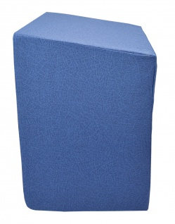 Bandscheibenwürfel abgeschrägt blau Entspannungswürfel Sani-Alt