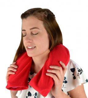 Nackenwärmflasche mit Bezug, rot Sani-Alt