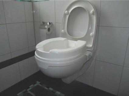 Toilettensitzerhöher Relaxon 10cm (ohne Deckel) Sani- Alt