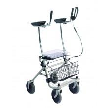 Rollator Arthritis Gehwagen Einhandbremse links Gehwagen TM Sani-Alt