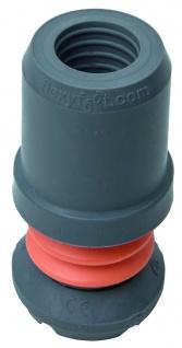 Flexible Krückenkapsel FLEXY FOOT 25 mm Flexyfoot