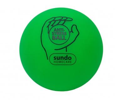 Anti-Stressball Knautschball Stressball 7cm GRÜN Sani-Alt