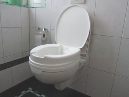Toilettensitzerhöher Relaxon 10cm, mit Deckel Sani- Alt