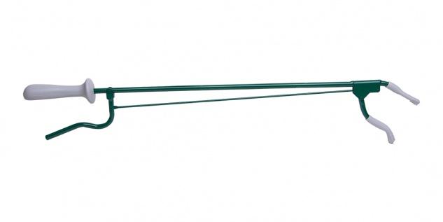 Greifzange Metall, ca. 60cm grün Sani-Alt