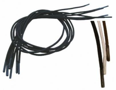 Schnürsenkel, elastisch, weiß, Packung a 3 Paar, 61cm Sani-Alt