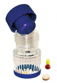 Tablettenmörser blau-transparent GLATT Sani-Alt