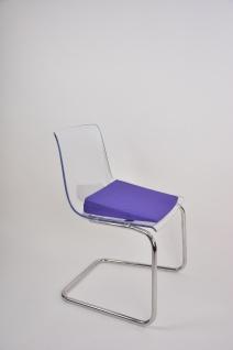 Keilkissen mit Baumwollbezug VIOLETT Sitzkissen Sitzerhöhung Keil Sani-Alt