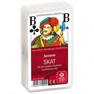 Spielkarten SKAT, extra große Zeichen Sani-Alt