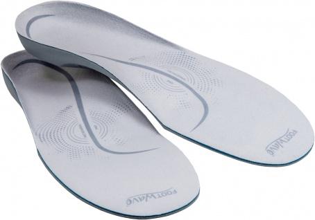 Einlegesohlen PLATTFUß Gr.M 42-43 Footwave Einlagen Schuhsohlen 1Paar Sani-Alt