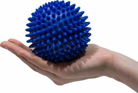 Igelball Noppenball Massage Ball BLAU Ø 10cm Sani-Alt