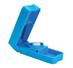 Tablettenzerteiler, Standard klein, hellblau Sani-Alt