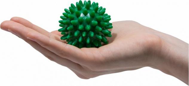 Igelball Noppenball Massage Ball GRÜN ø 5 cm Sani-Alt