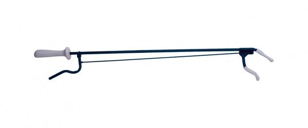 Greifzange Metall, ca. 100cm schwarz Sani-Alt