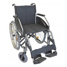 Rollstuhl LEXIS LIGHT 42cm silber verstellbare Sitzhöhe Sani-Alt