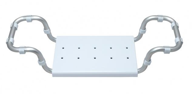 Badewannensitz, Aluminium, Kunststoff - Sitzhilfe Badehilfe Sani-Alt