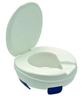 Toilettensitz-Erhöher Clipper mit Deckel, 10cm Sani- Alt