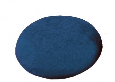 Latex-Kissen, oval, mit Frotteebezug, blau Sani-Alt
