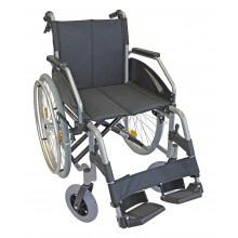 Rollstuhl LEXIS LIGHT 48 cm TB silber verstellbare Sitzhöhe Sani-Alt