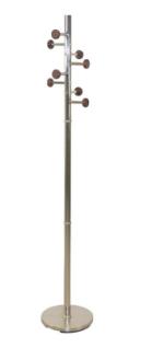 Garderobenständer Nickelfarben/Metall Kleiderständer Garderobe modern design