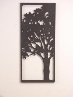 Wanddeko Baum Metallbild Deko Bild Wandbild Metall Wanddekoration modern design