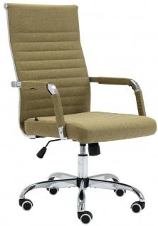 Bürostuhl 120 kg belastbar Stoff grün Chefsessel Drehstuhl Computerstuhl stabil