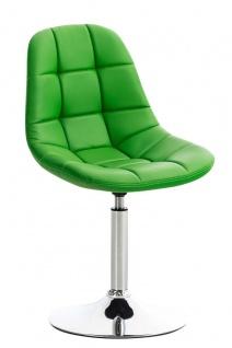 Esszimmerstuhl grün drehbar Kunstleder Küchenstuhl design modern hochwertig