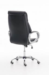 XXL Bürostuhl schwarz 150 kg belastbar Chefsessel Kunstleder stabil hochwertig - Vorschau 4