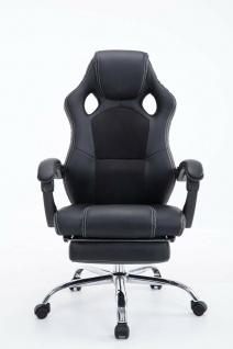 Chefsessel 115 kg belastbar schwarz Bürostuhl Drehstuhl Gaming Zocker Gamer NEU