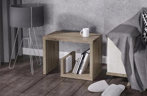 Beistelltisch Remo Trüffel Beitisch Sofatisch hochwertig modern design günstig