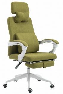 Bürostuhl grün 136 kg belastbar Drehstuhl Computerstuhl klassisch stabil robust