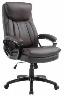 Chefsessel braun Chefsessel Drehstuhl Computerstuhl Schreibtischstuhl stabil