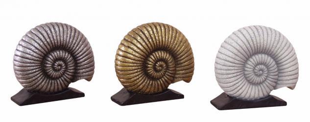 Standdekoration goldfarben Dekoration Deko Schnecke Tierfigur Tischdeko Tierwelt