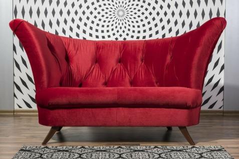 Zweisitzer in opulenter Formensprache Farbwahl Sofa Couch 2-Sitzer modern design
