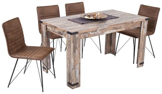 moderner Esstisch Treibholz-Look Esszimmertisch Holztisch günstig preiswert neu